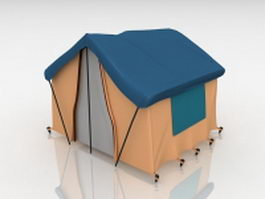 Camping tents 3d preview