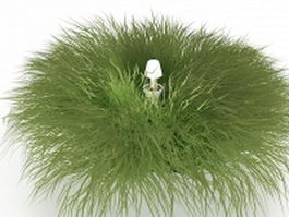 Grass and lawn sprinkler head 3d preview