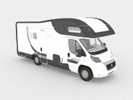 Fiat Ducato campervan 3d preview