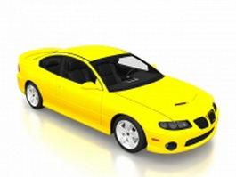 2006 Pontiac GTO 3d preview