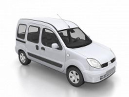 Renault kangoo van 3d preview