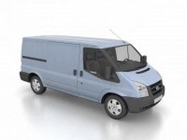 Ford Transit van 3d model preview