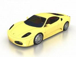 Ferrari 458 Spider 3d model preview