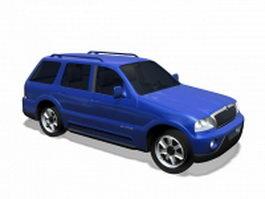 Lincoln Aviator SUV 3d model preview