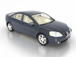Pontiac G6 sedan 3d preview