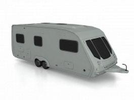 Caravan trailer 3d preview