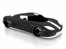 Koenigsegg CCX sports car 3d preview