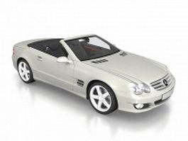 Mercedes-Benz SL 500 roadster 3d model preview