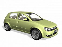 Opel Signum large family car 3d preview