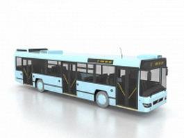 Low-floor motor bus 3d preview