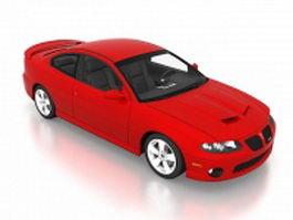 2006 Pontiac GTO red 3d preview