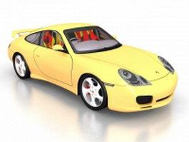Porsche 993 GT2 3d model preview