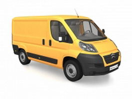 Citroen Jumpy Van 3d preview