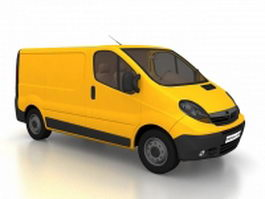Opel Movano Van 3d preview