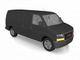 GMC Vandura Van 3d model preview