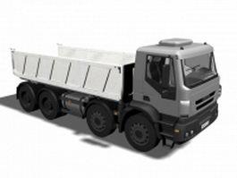 Dump truck 3d model preview