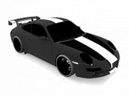 Porsche 997 GT3 RSR 3d preview