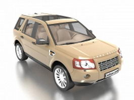 Land Rover Freelander SUV 3d preview