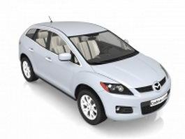 Mazda CX-7 crossover SUV 3d preview