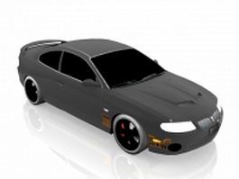 Pontiac GTO race car 3d preview