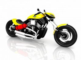 Harley-Davidson rocker 3d preview