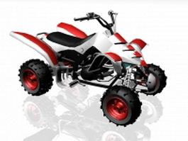 Quad ATV 3d preview