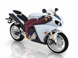 Sport bike 3d preview