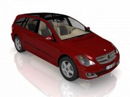 Mercedes-Benz A-Class compact car 3d model preview