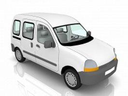 Mini MPV car 3d preview