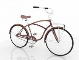 Vintage Schwinn bike 3d preview