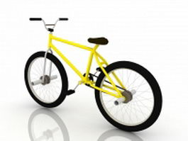 Mountain bicycle 3d preview