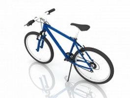 Aluminum racing bicycle 3d preview