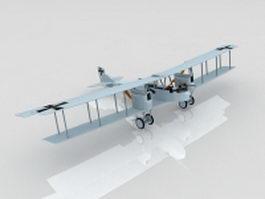 German WW1 Gotha IV Bomber 3d preview
