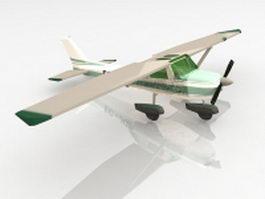 Cessna 182 aircraft 3d preview