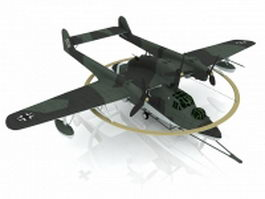 Blohm and Voss flying boat 3d preview