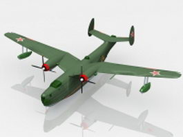 Beriev Be-6 Madge 3d preview