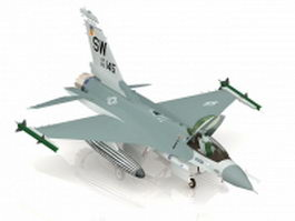 USAF F-16F jet fighter 3d preview