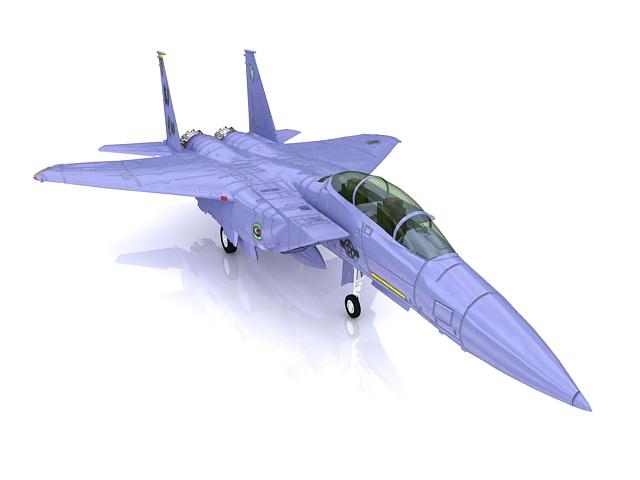 F-15E strike eagle 3d rendering