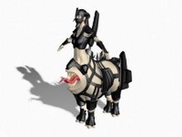 Centaur monster 3d preview