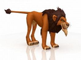 Disney Lion King Scar 3d preview