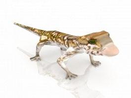 Gecko lizard 3d preview