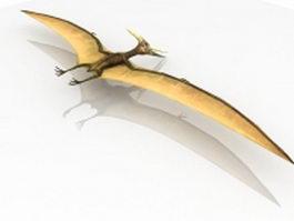 Pterosaur flying dinosaur 3d preview