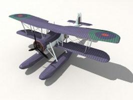 Fairey Swordfish floatplane 3d preview