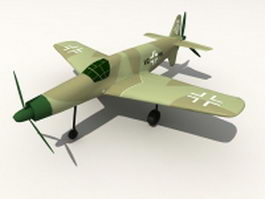 Dornier Do 335 heavy fighter 3d preview