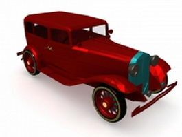 32 Dodge coupe 3d preview