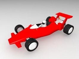 Toy F1 Car 3d preview