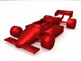 Kart racing 3d model preview
