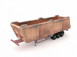 Off-road dump truck 3d preview