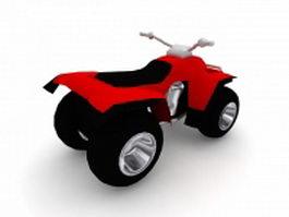 ATV Quad Bike 3d preview