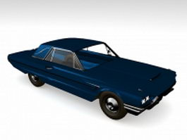 Coupe convertible car 3d preview